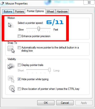 Windows Raw Input Mouse