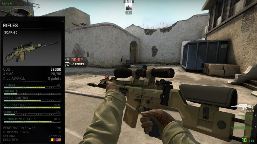 Simple Autosniper Tips and Tricks for CS GO